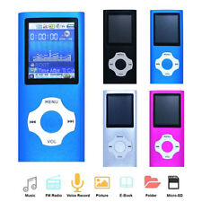 MP3 Music Player Digital LCD 1.8 inch TFT Screen FM Radio Support 64GB Micro SD