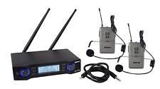 Karma Radiomicrofono Doppio Wireless 2 Microfoni UHF+ Trasmittente SET8102LAV