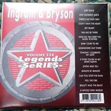 Legends Karaoke Cdg James Ingram & Peabo Bryson #228 R&B Soul 17 Songs