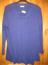 "BONITA Damenshirt 3/4 Arm Top neu Gr.L dunkelblau ""stretch"" figurbetonend"