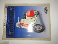 Brand New LARGE Metal Wall Sign Lambrella scooter motorbike 39.5 x 30cm