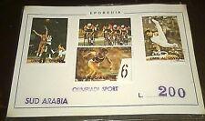 Francobolli/Stamps/Sud Arabia/Olimpiadi Sport/Eporedia Pz.4
