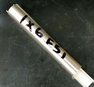 """stainless steel f51 bar offset 1"""" dia x  6 """" long in v-good condtion"""