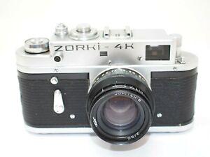 Zorki 4K Rangefinder Camera with 50mm f2 Lens