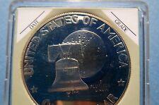 """1776-1976S BiCENTENNIAL EISENHOWER DOLLAR/LIBERTY BELL """"S-PROOF"""" Type 1 COIN"""