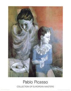 Pablo Picasso - Artisten - Hochwertiger Kunstdruck n.d. Original von 1937