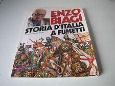 STORIA D'ITALIA A FUMETTI , ENZO BIAGI 1991 A. MONDADORI EDITORE
