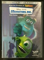 🚪 Disney Pixar's Monsters Inc. on DVD - 2003, Collector's Edition 2-Disc Set