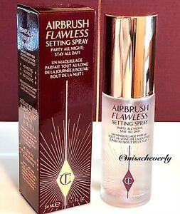 CHARLOTTE TILBURY Airbrush Flawless SETTING SPRAY 34ml/1.1oz TRAVEL SIZE ~ NIB