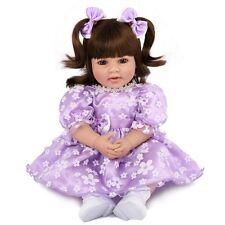 "Realistic 20"" Toddler Reborn Dolls Newborn Babies Vinyl Silicone Baby Girl Doll"