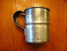 Civil War Era Reproduction Large 'Tin' Cavalry Cup