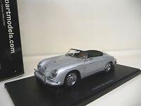 1:18 Autoart Porsche 356A Speedster silver silber NEU NEW