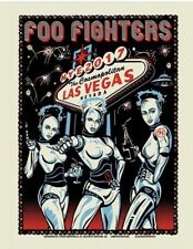 Foo Fighters Limited Edition Concert Poster Las Vegas New Years Eve 2017 61/150
