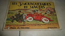 LES 3 MOUSQUETAIRES DU MAQUIS - Reliure 2 - N°6 à 10 - BE