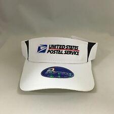 USPS Performance Visor Cap United States Postal Service Sports Adjustable Hat