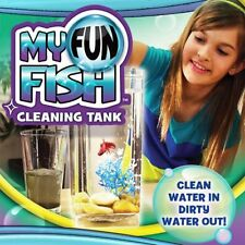 Self Cleaning Aquarium, My Fun FISH TANK Complete Kit with Light -Gravity Clean