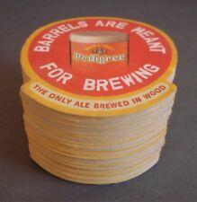 Marston's Pedigree Beer Mats x 49 Pub Man Cave Unused - Old Stock