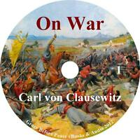 On War Vol. 1 Military Strategy Audiobook by Carl von Clausewitz on 11 Audio CD