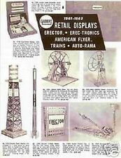 Gilbert American Flyer 1961-61 Retail Displays D2255