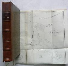 INVESTIGACIÓN en la historia Heroica de GRECIA, E.O Behr Condado Pontois.1844