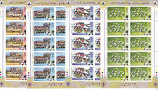 ASCENSION ISLAND MNH STAMP SHEETS 2007 CENTENARY OF SCOUTING SG 971-974