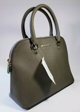 Michael Kors Jet Set Travel Tote Medium Saffiano Leather Zip-Top Army Green