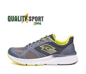 Lotto Speedride 600 IX Grigio Scarpe Shoes Uomo Running Palestra 215678 7HD