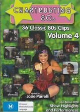 Chartbusting 80's Vol 4 RARE VARIOUS OZ POP 36 MUSIC VIDEOS R0 OOP 2DISCS TOTO++
