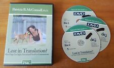 Lost In Translation? (Dvd) Patricia McConnell Tawzer dog training communication