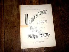 Un soir aux bords de la Marne rêverie pour piano 1900 Philippe Tanera
