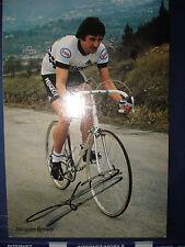 cyclisme carte  Jacques  Bossis   PEUGEOT ESSO 1981  signée autographe