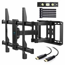 """TV Wall Mount Full Motion Swivel Dual Articulating Arm for Most 37"""" -70"""" LED, LC"""