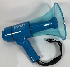 Pyle Waterproof Megaphone PA Bullhorn Speaker with Siren Alarm & LED Light