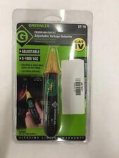 Greenlee GT-16 Adjustable Voltage Detector Non Contact Detector