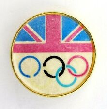 GREAT BRITAIN NATIONAL OLYMPIC COMMITTEE (NOC) PIN BADGE 1980s GENERIC RARE