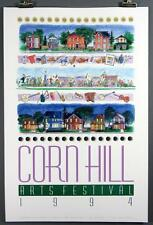 Corn Hill Arts Festival Rochester NY 1994 Poster Print Richard Harrington