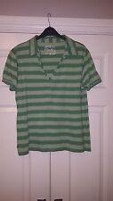 South Green Striped T-Shirt - Size 20
