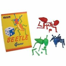 Beetle Classic Retro 1950s Family Game Roll-a-dice & Build House of Marbles