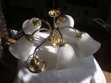 VINTAGE alter Kronleuchter// Leuchte// Lampe funktionstüchtig SHABBY CHIC