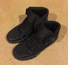 Supra Kids Vaider Size 3 Black BMX DC Skate Shoes Sneakers $55 Retail Price