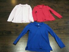 Girls Long Sleeve Uniform Tops Polo Style Tops size 16 Childrens Place lot