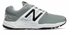 New Balance Men's Turf 3000V3 Shoes Grey With White 9.5 D