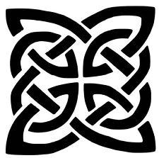Celtic Knot Wall Art Decal / Sticker