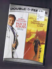 Patch Adams / What Dreams May Come - Robin Williams (Dvd) Brand New / Sealed