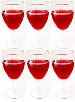 Trulli Set of 12 Wine Glasses White Red Wine Glasses Stemmed Wine Glass