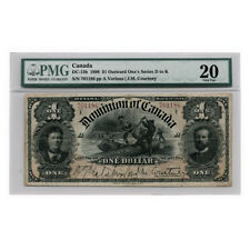 Dominion of Canada Outward One Series D to K Courtney $1 1898 DC-13b PMG Very Fi