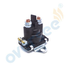 For Mercury Outboard Starter & Trim Solenoid w/Flat Bracket 89-96054T Engine