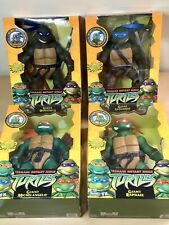 Giant TMNT 12 Inch Figures Bundle, All Four Turtles, 2002 Boxed