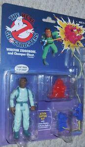 Le Véritable Ghostbusters Winston Zeddemore Étiquette Mosc Neuf Wal-Mart Rétro