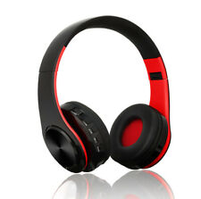 Hi-Fi Super Bass Bluetooth Wireless/Wired Headsets for Pc/Tv/Game/Music/Mp3 Play